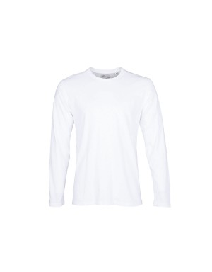 White Long Sleeve Organic T-Shirt