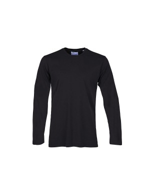 Black Long Sleeve Organic T-Shirt