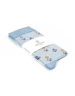 Sailor Socks Azur