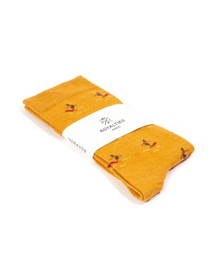 Chaussettes Kelly Ocre