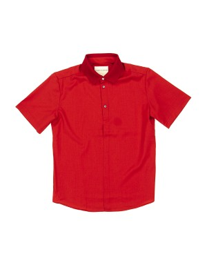 Red Light Wool Polo Shirt