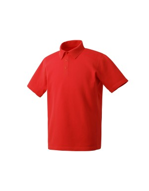 Red Fusionknit Polo Shirt