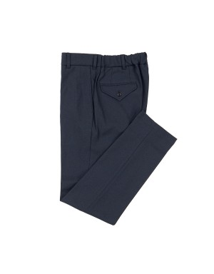 Blue Grey Slim Fit Trousers