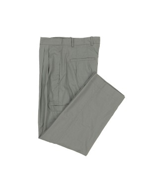 Grey Large Lightweight Cotton Trousers