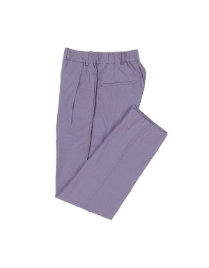 Lilac Cotton Trousers