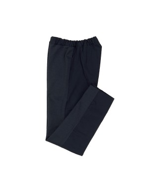 Two Tone Navy Cotton Trousers