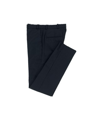 Deep Navy Cotton Trousers